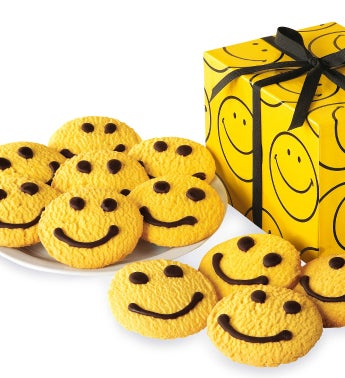 Smiley Face Butter Cookies