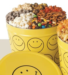 Smiley Face 7-Way Snacks