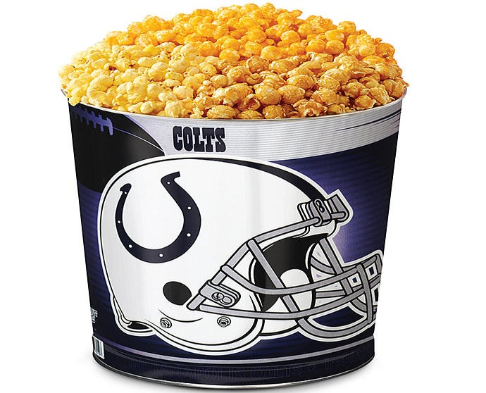 Indianapolis Colts 3-Flavor Popcorn Tins
