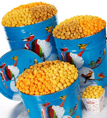 Frosty Friends Too Popcorn Tins