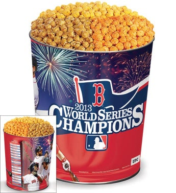3 Gallon Boston Red Sox(tm) Commemorative Popcorn Tin