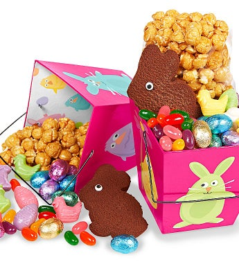 Easter Friends Take-Out Boxes (Set of Two)