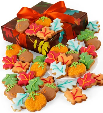 Autumn Prism Decorated Cookies