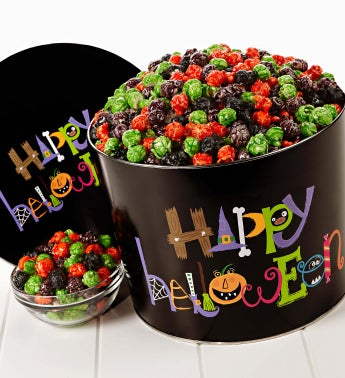 2 Gallon Happy Halloween Specialty Flavor Tins