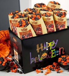 24 Pack Single Serve Halloween Assorted Popcorn