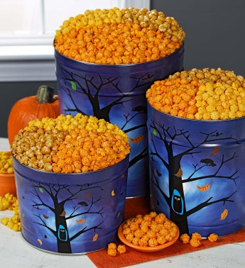 Night Owl Popcorn Tins