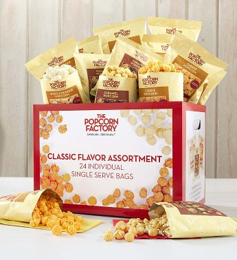 24 Pack Single Serve Popcorn