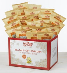 24-Pack Sea Salt Slim Popcorn