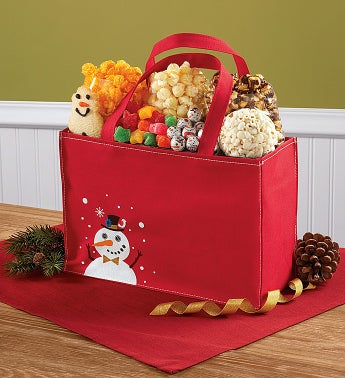Snowtime Treat Tote