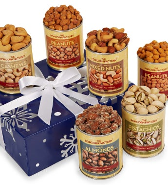 Snowy Night Deluxe Nut Assortment