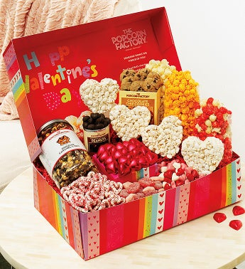 Happy Valentine's Day Snacker's Choice Gift Box