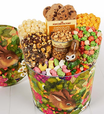 2 Gallon Garden Bunny Snack Assortment