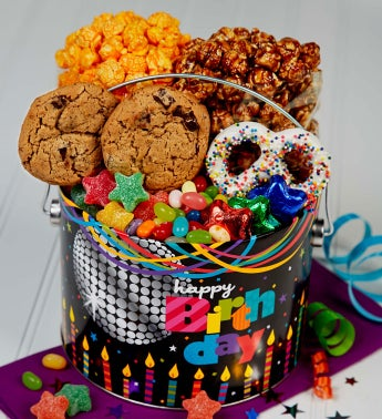 1/2 Gallon Birthday Glitz Fun Pail