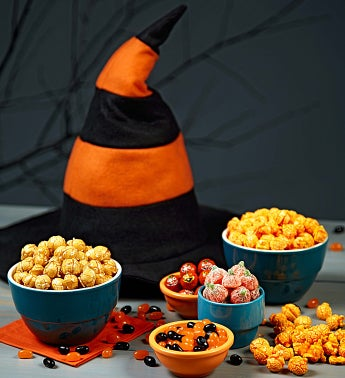 Felt Witch Hat With Treats