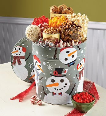 Snowtime Deluxe Snack Assortment