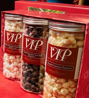 Holiday Ornaments 3-Canister VIP Assortment