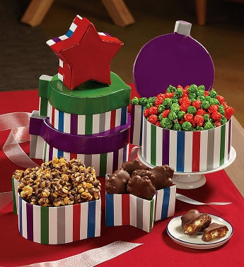 3-Tier Ornament-Box Tower