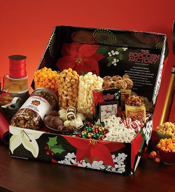 Winter Floral Snacker's Choice Box