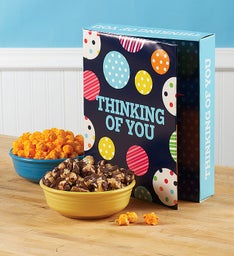 Large Popcorn Card - Thinking of You