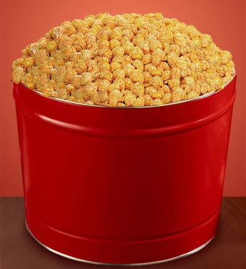 Sriracha Popcorn (2 Gallon Solid Red Tin)