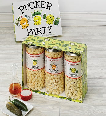 Pucker Party 3-Canister Set