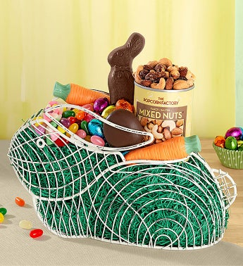 Wire Bunny Basket
