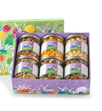 Bunny Patch 6-Canister Gift Box