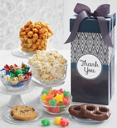 Simply Stated Thank You Tall Snack Box