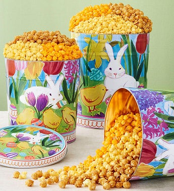 Easter in Bloom Popcorn Tins