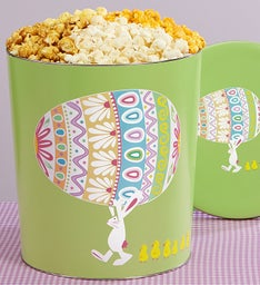 Easter Egg Parade 3-1/2 Gallon Popcorn Tins