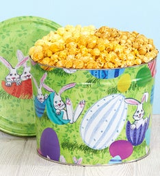 Bunny Patch 2 Gallon Popcorn Tin
