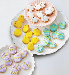 Easter Egg Parade Decorated Cookies