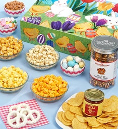 Easter In Bloom Snacker's Choice Gift Box