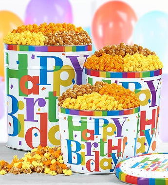Birthday Gifts Birthday Popcorn Snacks The Popcorn Factory