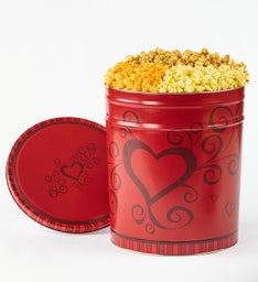 Really Red Popcorn Tin 3-1/2 Gallon