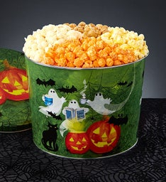 Ghost Stories 2 Gallon 4-Flavor Popcorn Tin