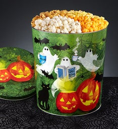 Ghost Stories 3-1/2 Gallon 4-Flavor Popcorn Tin