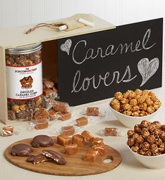 Caramel Lover's Chalkboard Top Gift Box