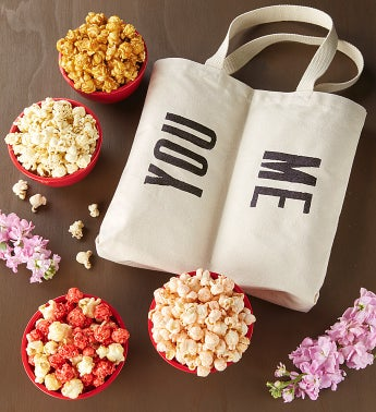 You & Me Dual Compartment Tote Bag