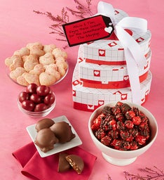 Be My Valentine Great Food Gourmet Tower