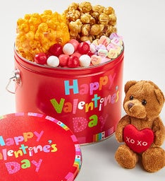 Happy Valentine's Day Fun Pail