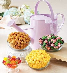 Lavender Watering Can and Snacks