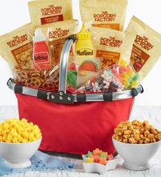 Red Picnic Basket