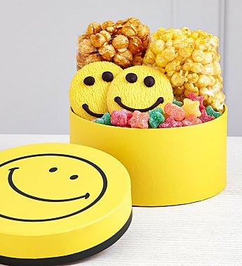 Smiley Dot Treat Box