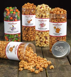 Fall Favorites Premium Popcorn Canisters