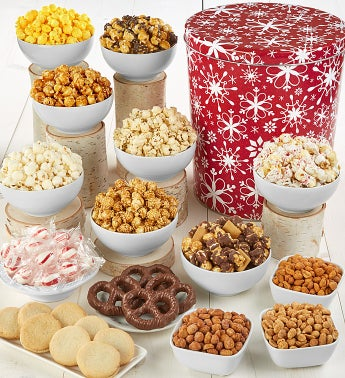 Snowflake Deluxe Snack Assortment
