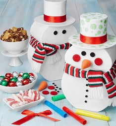 Decorate Your Own Snowman Stack