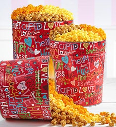 Love Out Loud Popcorn Tins