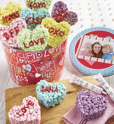 Popcorn Conversation Heart Decorating Kit