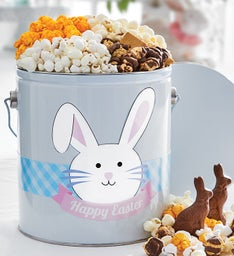 Unique popcorn gifts the popcorn factory happy easter 1 gallon pail of snacks negle Gallery